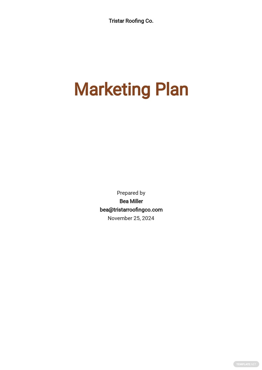 Roofing Company Marketing Plan Template.jpe