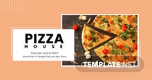 Free Editable Food App Promotion Facebook Post Template