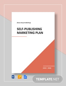 Self-Publishing Marketing Plan Template