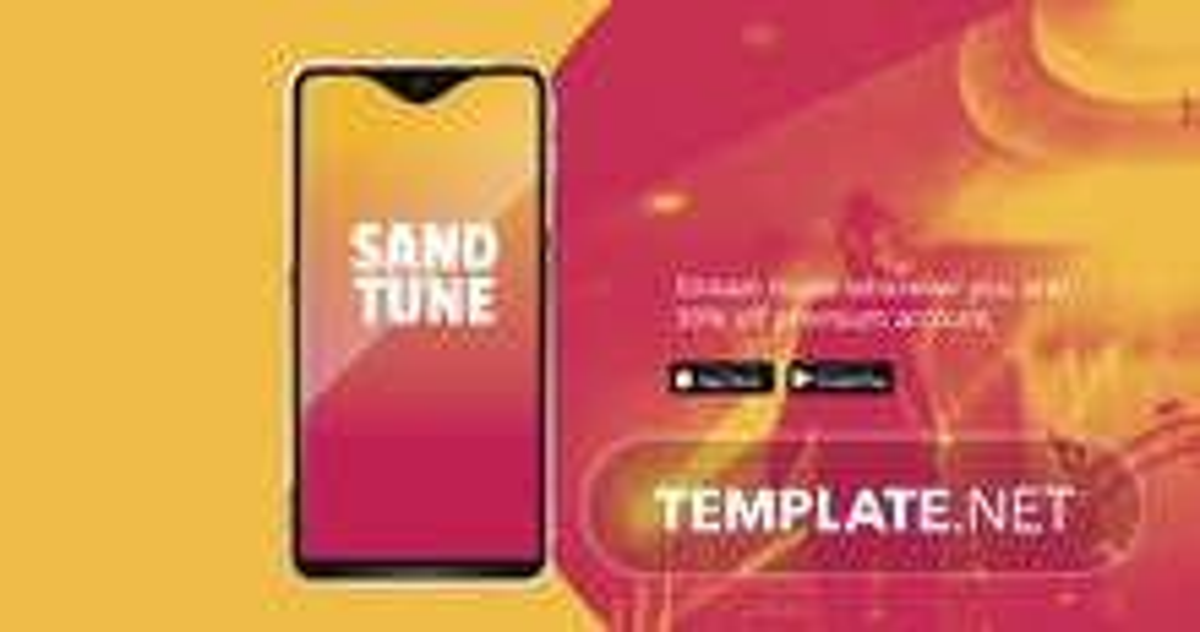 Free Elegant App Promotion Facebook Post Template