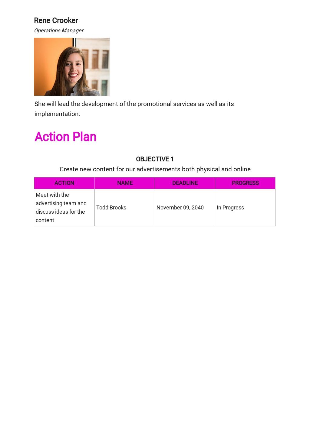 Spa or Salon Marketing Plan Template 4.jpe