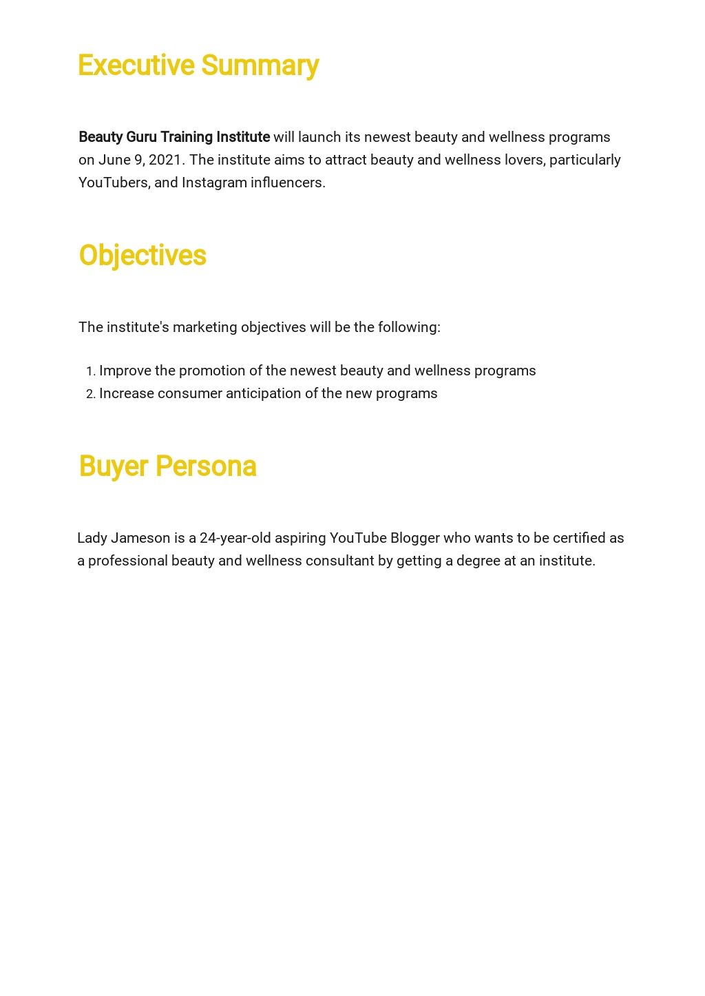 Training Institute Marketing Plan Template 1.jpe