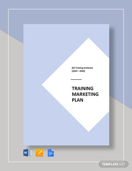 Training Institute Marketing Plan Template