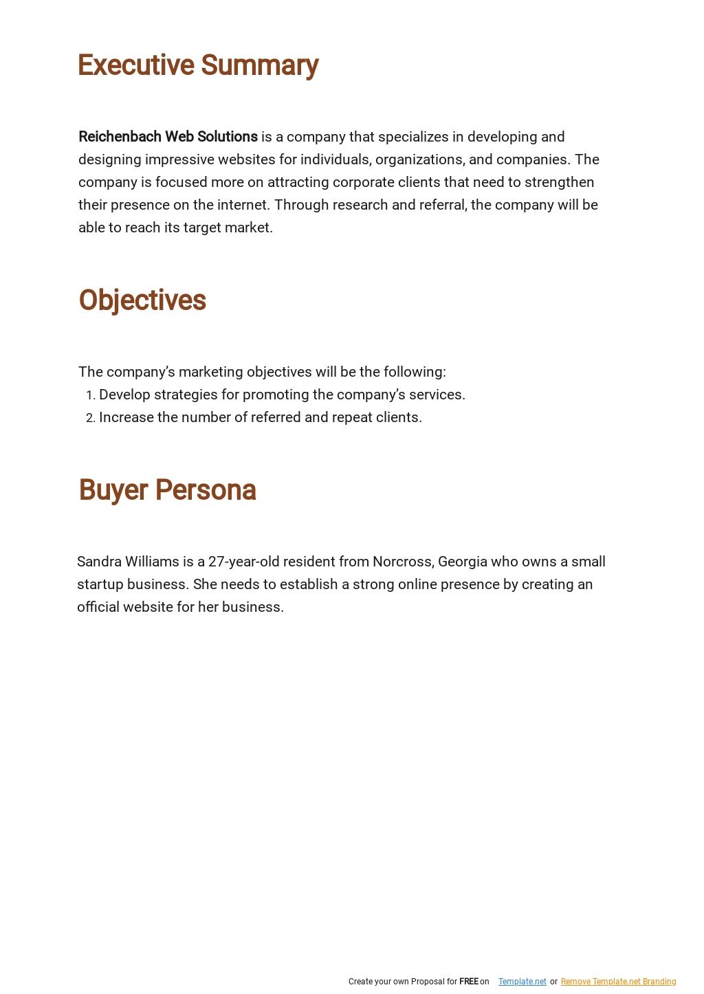 Web Design and Development Marketing Plan Template 1.jpe