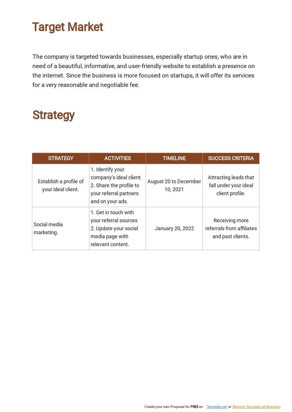 Web Design and Development Marketing Plan Template 2.jpe