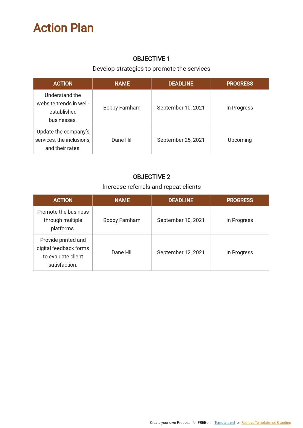 Web Design and Development Marketing Plan Template 4.jpe