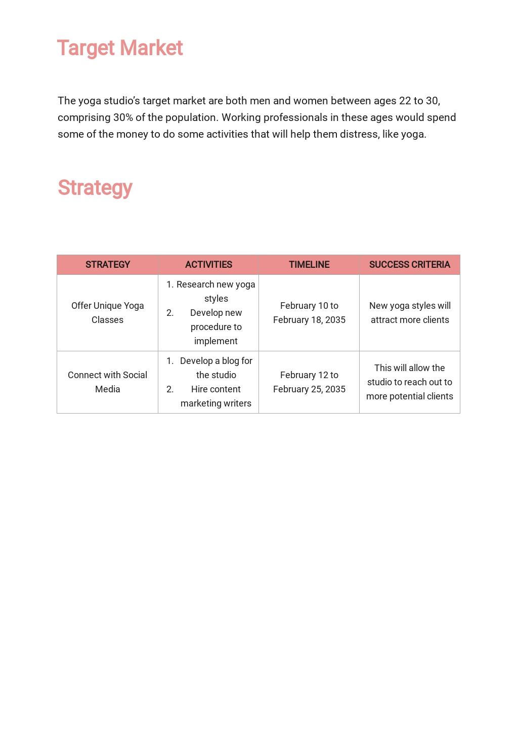 Yoga Marketing Plan Template 2.jpe