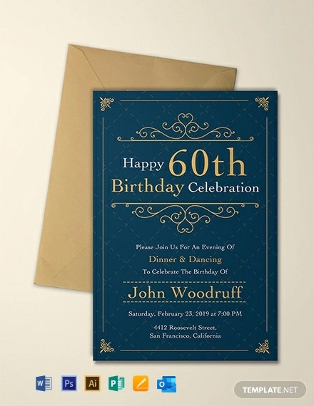 302 Free Invitation Templates In Adobe Illustrator Ai
