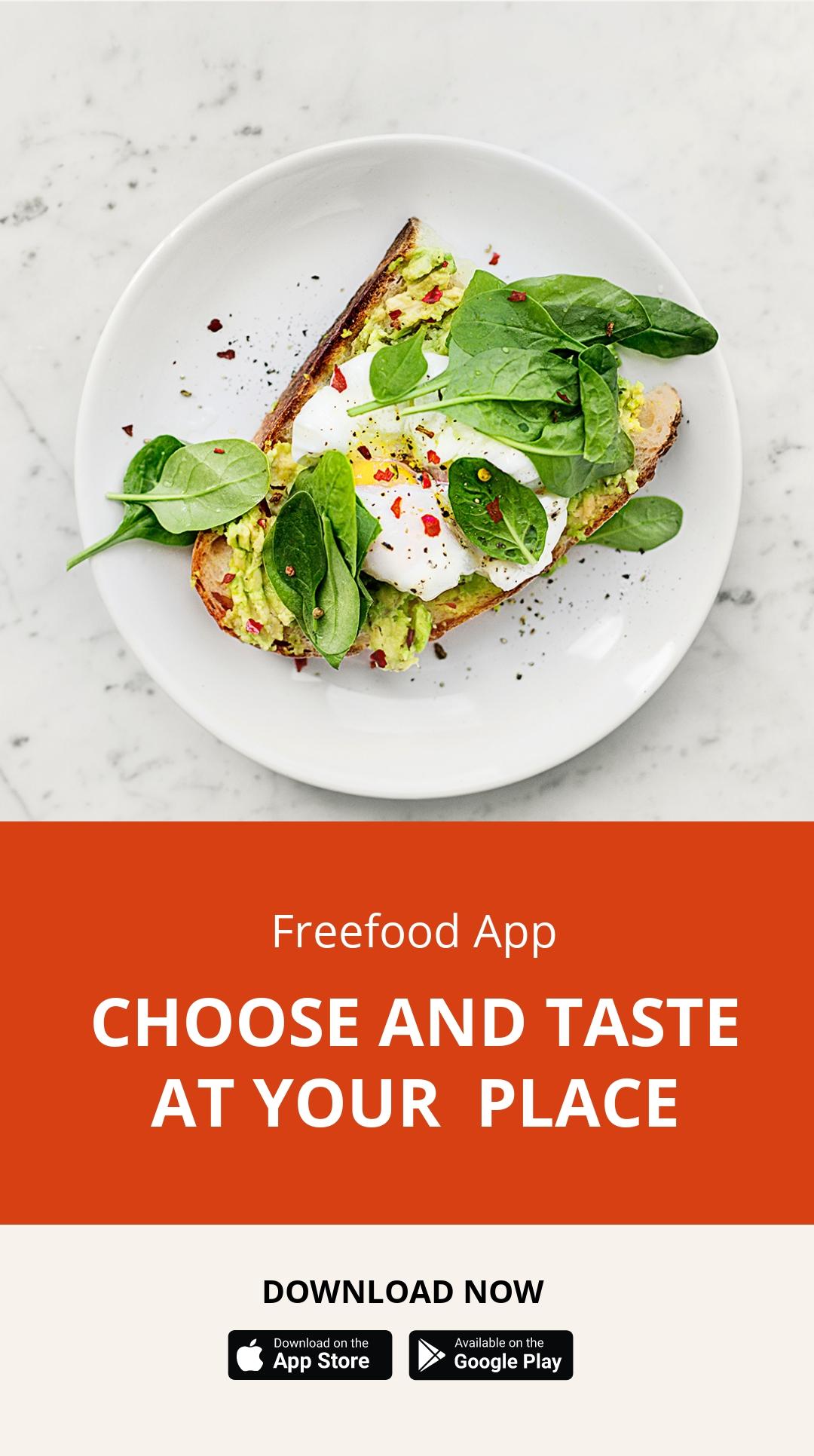 Food Mobile App Promotion Instagram Story Template