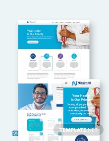Clinic WordPress Theme/Template