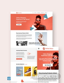 Online Store WordPress Theme/Template