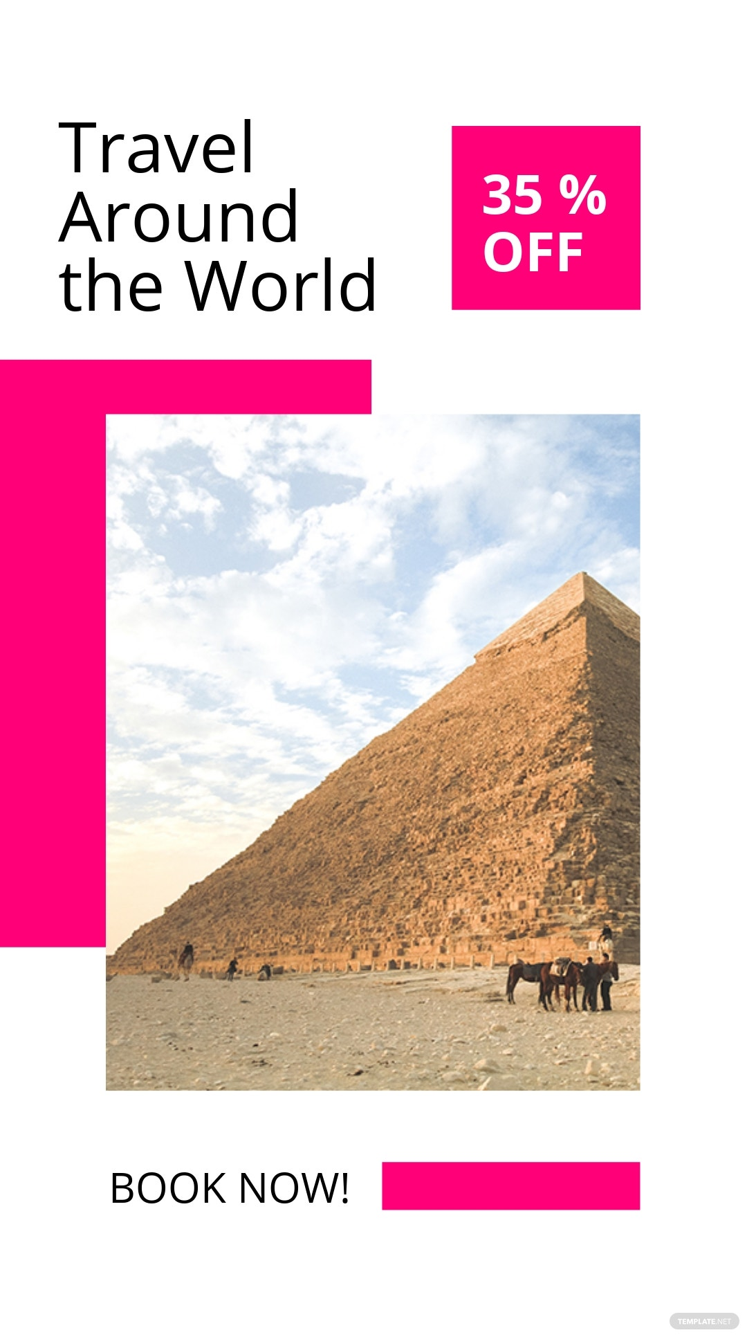 Free World Travel Instagram Story Template