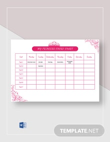 My Princess Chore Chart