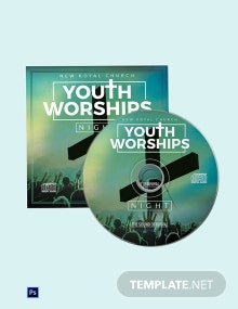 Worship CD Cover Template