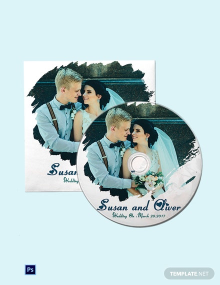 Best Wedding CD Cover Template