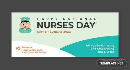 Free Free Nurses Day Facebook Cover Template