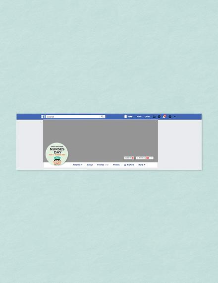 Free Nurses Day Facebook Profile Photo Template