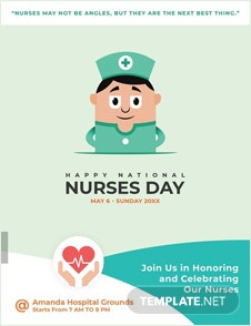 nurses week flyer templates - free may day flyer template in adobe photoshop