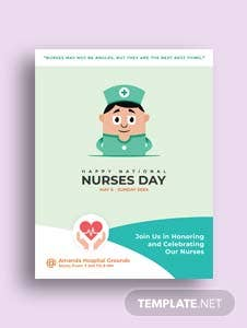 Free mother 39 s day flyer template in adobe photoshop for Nurses week flyer templates