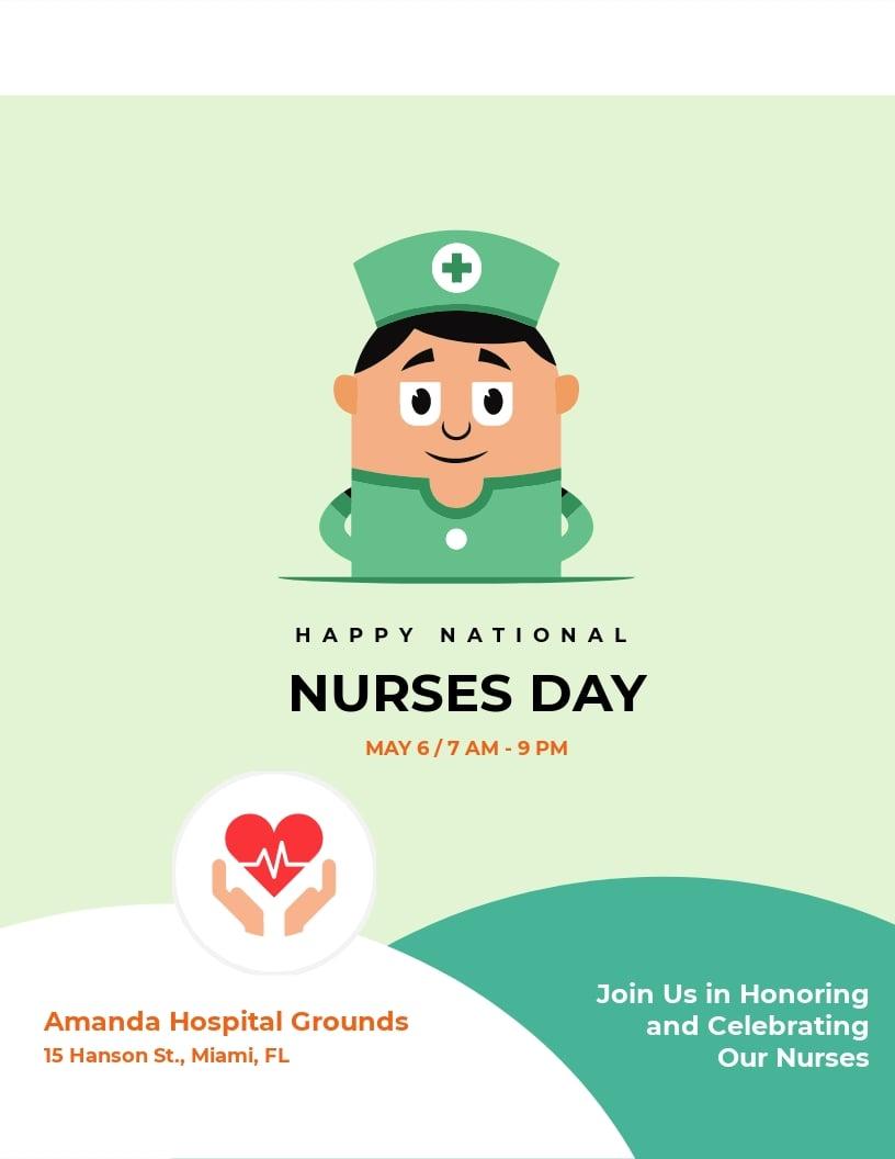 Nurses Day Flyer Template