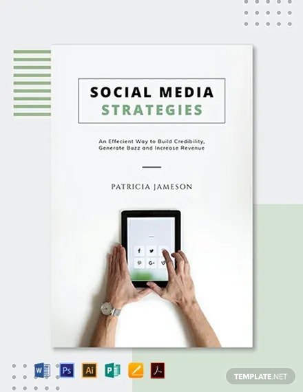Free Social Media Book Cover Template