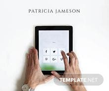 Social Media Book Cover Template