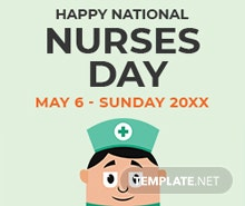 Free Nurses Day Google Plus Header Photo Template