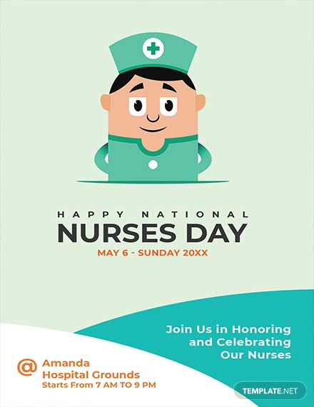 Free Nurses Day Invitation Template