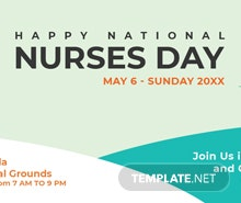 Free Nurses Day LinkedIn Blog Post Template