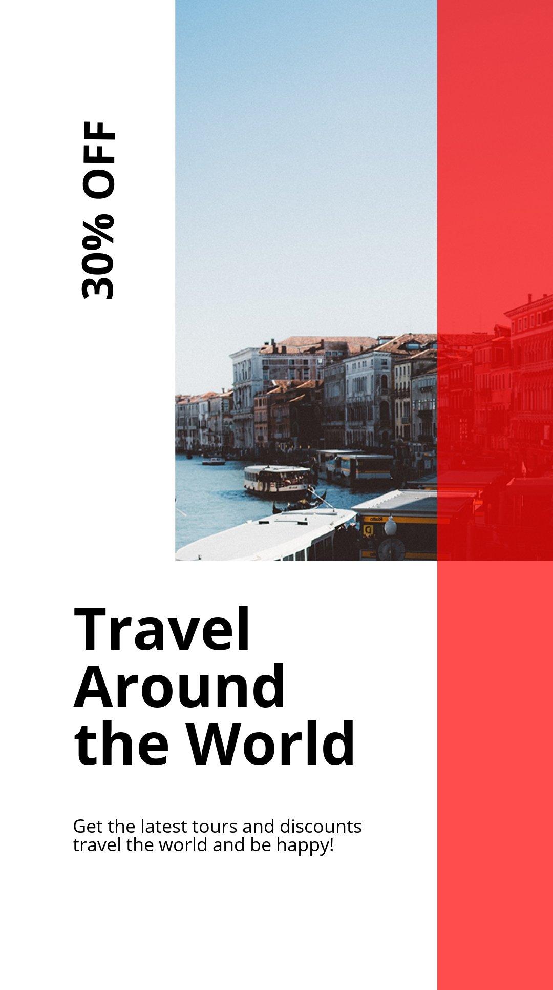 Modern Travel Instagram Story Template