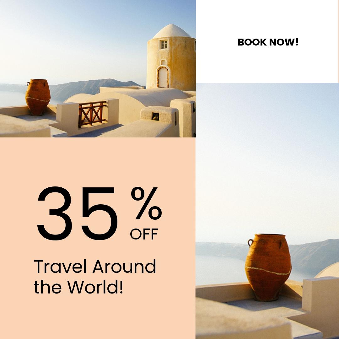 Free Travel Brands Instagram Post Template.jpe
