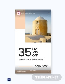Free Travel Brands Instagram Story Template