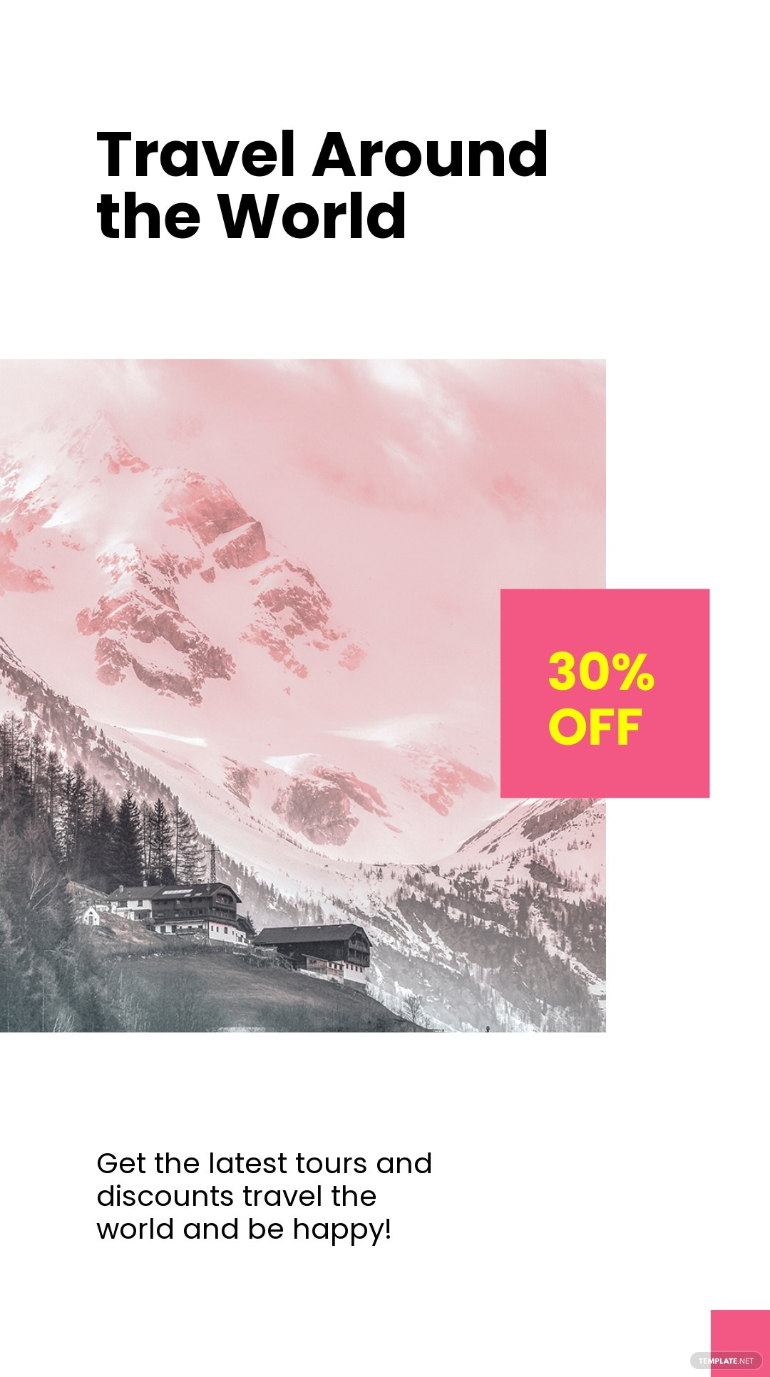 Travel Discount Instagram Story Template