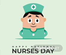 Free Nurses Day Pinterest Pin Template