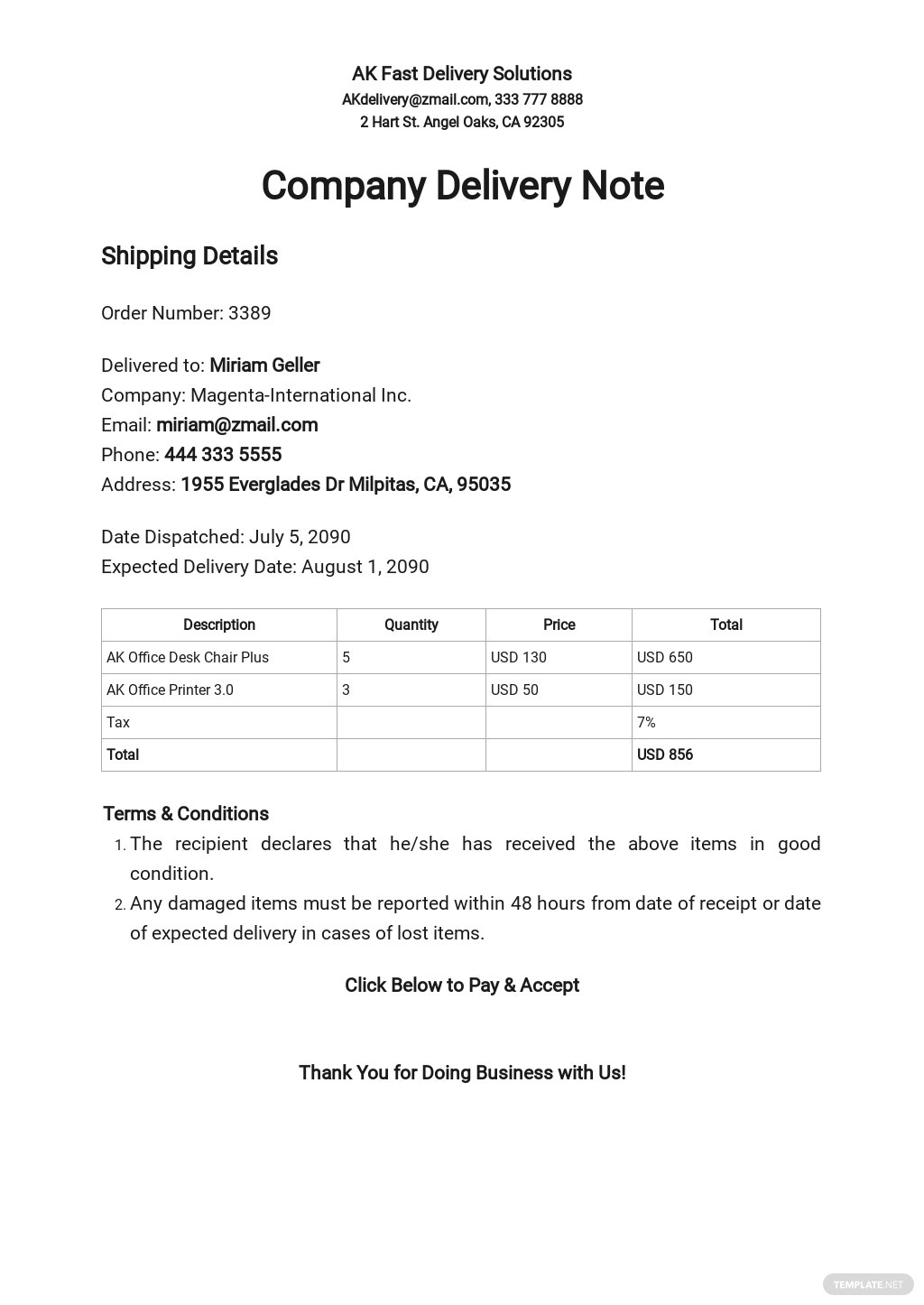 Company Delivery Note Template.jpe