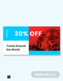 Free Travel Offer Blog Image Post Template
