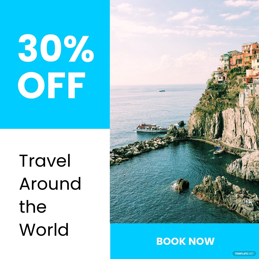 Free Travel Offer Instagram Post Template
