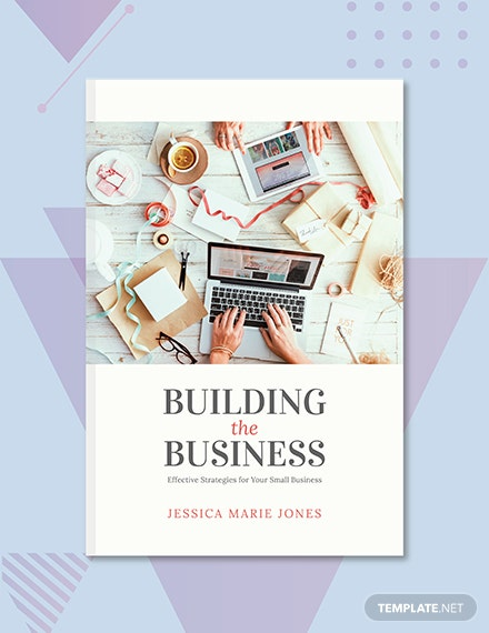 Free Small Business Book Cover Template
