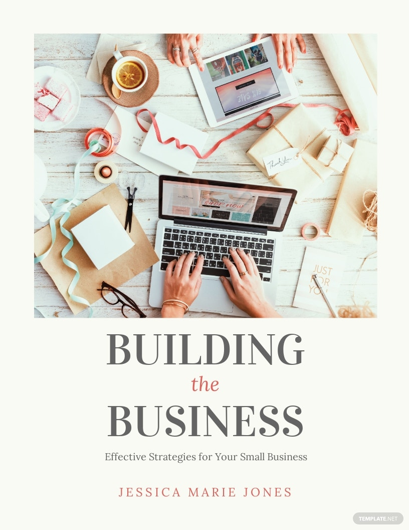 Small Business Book Cover Template