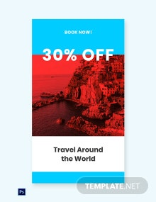 Free Travel Offer Whatsapp Image Template