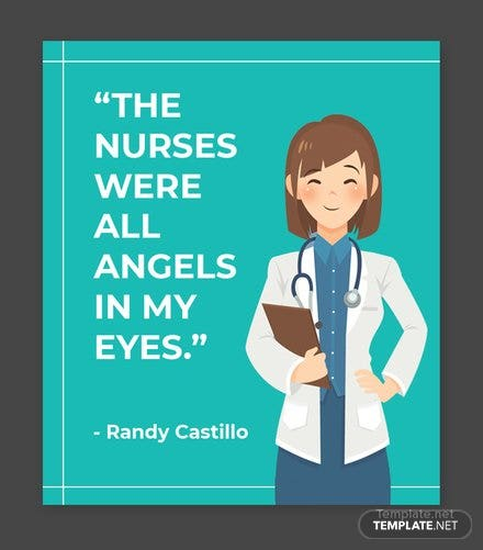 Free Nurses Day Quote Template