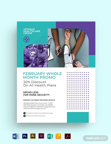 Healthcare Multipurpose Flyer Template