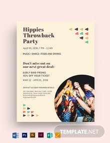 Hippy Flyer Template