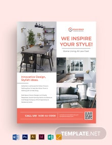 Home Interior Flyer Template