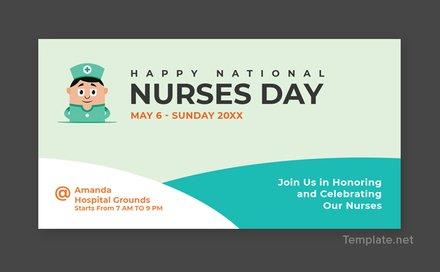 Free Nurses Day Tumblr Post Template