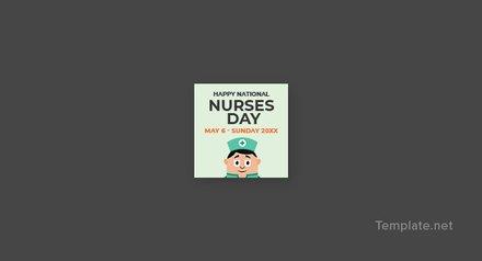 Free Nurses Day Tumblr Profile Photo Template