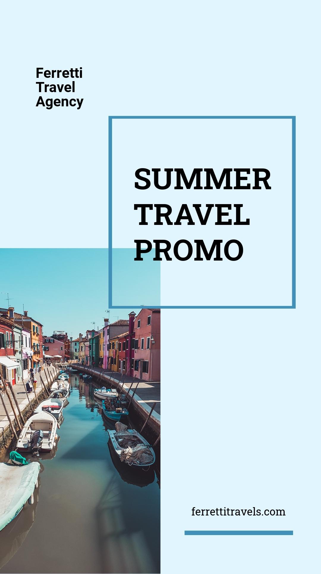 Summer Travel Instragram Story Template.jpe