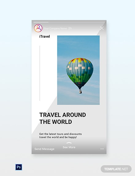 Free Travel Trends Instagram Story Template