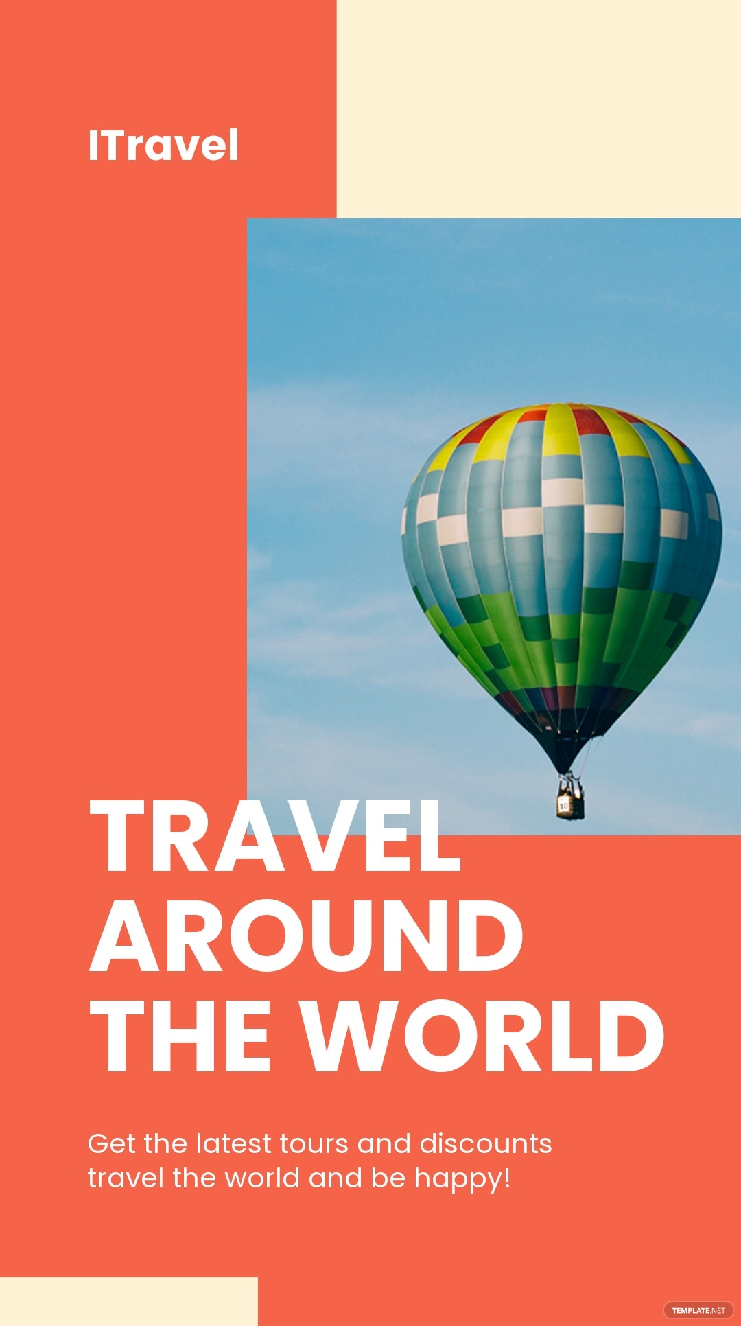 Travel Trends Instagram Story Template