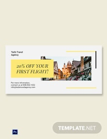 Free Travel & Tourism Blog Image Post Template